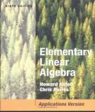 Ebook Elementary linear algebra (9th edition): Part 1