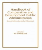 Ebook Handbook of comparative and development public administration: Part 1