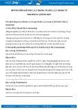 Hướng dẫn giải bài 1,2,3 trang 72 SGK Sinh học 6