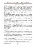 Bài tập hóa hữu cơ lớp 11