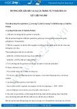 Hướng dẫn giải bài 5,6 trang 73 SGK Hóa  học12