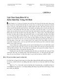 Bài giảng Nhập môn Kinh tế lượng với các ứng dụng - Chương 6: Lựa chọn dạng hàm số và kiểm định đặc trưng mô hình