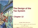 Lecture Principles of microeconomics - Chapter 12: The design of the tax system