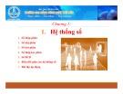 Bài giảng Hệ thống số - CĐ Công nghệ Thủ Đức