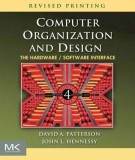 Ebook Computer organization and design (4th edition): Part 1