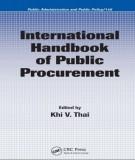 Ebook International handbook of public procurement: Part 1