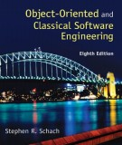 Ebook Objected oriented and classical software engineering (8th edition): Part 2