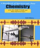 Ebook A Handbook of spectroscopic data chemistry: Part 2