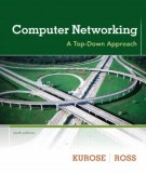 Eboook Computer networking - A top down approach (6th edition): Part 1