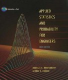 Ebook Applied statistics and probability for engineers: Part 1