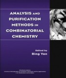 analysis and purification methods in combinatorial chemistry: part 1