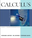 calculus, early transcendentals (9th edition): part 1