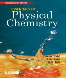 Ebook Essentials of physical chemistry: Part 1