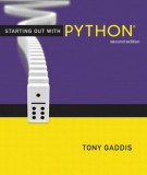Ebook Starting out with python (2nd edition): Part 1
