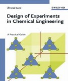 Ebook Design of experiments in chemical engineering: Part 2