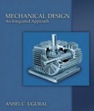 Ebook Mechanical design an integrated approach: Part 2