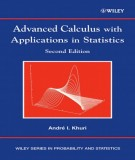 Ebook Advanced calculus with applications in statistics (2nd edition): Part 2