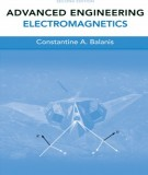 Ebook Advanced engineering electromagnetics (2nd edition): Part 1