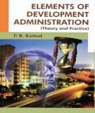 Ebook Elements of development administration: Part 1