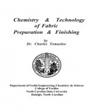 Ebook Chemistry & technology of fabric preparation & finishing: Part 2