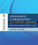 Ebook Organic chemistry as - A second language (3th edition): Part 1