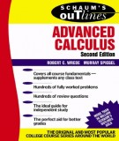 advanced calculus (2nd edition): part 1