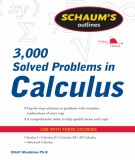 Ebook 3,000 solved problems in calculus: Part 1