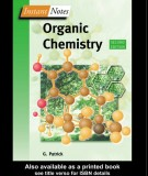 Ebook Instant notes in organic chemistry (2nd edition): Part 1