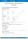 Giải bài tập Bảng nhân 3 SGK Toán 2