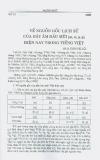 Về nguồn gốc lịch sử của dãy âm đầu mũi [m,n,...] hiện nay trong tiếng Việt