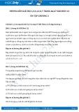 Hướng dẫn giải bài 4,5,6,7 trang 67 SGK Sinh học 12