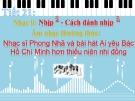 Bài giảng Âm nhạc lớp 6 - Tiết 21
