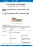 Giải bài tập Địa hình bề mặt trái đất (tiếp theo) SGK Địa lí 6