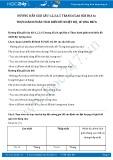 Giải bài tập Thực hành phân tích biểu đồ nhiệt độ, lượng mưa SGK Địa lí 6