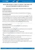 Giải bài tập Thực hành: Viết báo cáo về đặc điểm tự nhiên của Ô-xtrây-li-a SGK Địa lí 7
