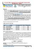 Đề thi lập trình cá nhân cấp câu lạc bộ Olympic Tin học HUTECH - Tháng 2