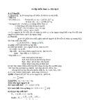 Ôn tập kiến thức cơ bản Hóa học 8