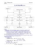 Đề cương ôn tập hóa học 9 - GV. Trần Văn Cân