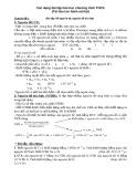 Các dạng bài tập hóa học chương trình THCS