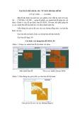 Tạo bản đồ (DEM, 3D) từ bản đồ địa hình (ỷ lệ 1/500... ...1/10.000)