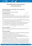 Giải bài tập Dân cư, xã hội châu Phi SGK Địa lí 7