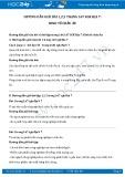 Giải bài tập Kinh tế châu Âu SGK Địa lí 7