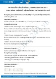 Giải bài tập Thực hành: Nhận biết đặc điểm môi trường đới ôn hoà SGK Địa lí 7