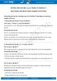 Giải bài tập Hoạt động sản xuất nông nghiệp ở đới nóng SGK Địa lí 7