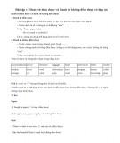 Bài tập về danh từ đếm được và danh từ không đếm được (có đáp án)