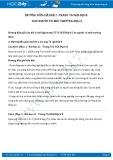 Giải bài tập Con người và môi trường địa lí  SGK Địa lí 8