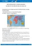 Giải bài tập Địa hình với tác động của nội lực, ngoại lực SGK Địa lí 8