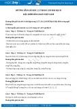 Giải bài tập Đặc điểm sông ngòi Việt Nam SGK Địa lí 8