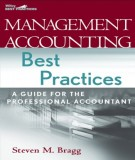 Ebook Management accounting best practices: Part 1