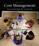 Ebook Cost management accounting and control (5th edition): Part 1
